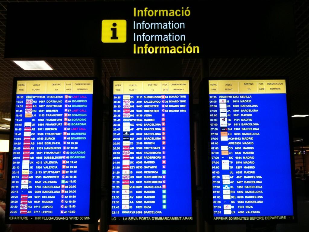 Mallorca Flughafen - Conversion