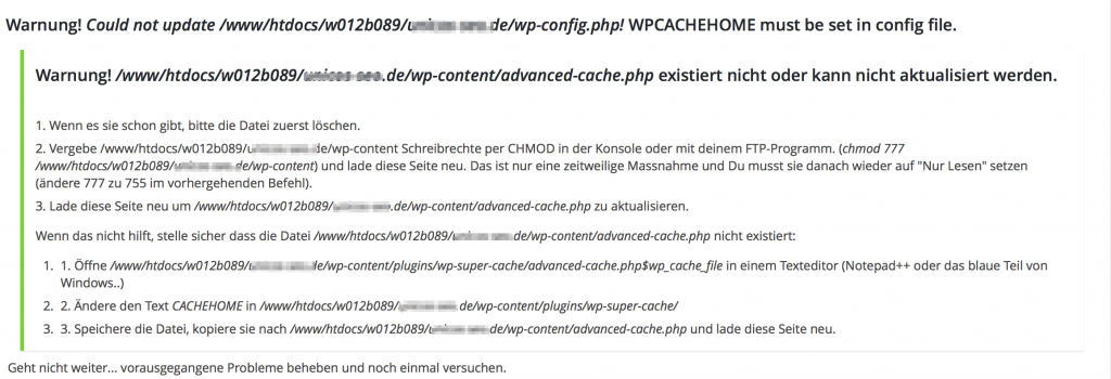 WP Super Cache WordPress