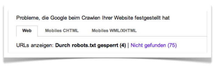 crawling-fehler-google