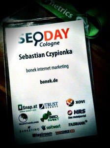 SEO DAY Cologne - Sebastian Czypionka