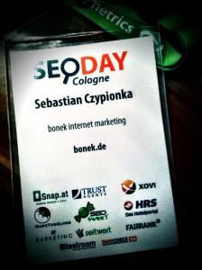 SEO DAY Cologne - Sebastian Czypionka