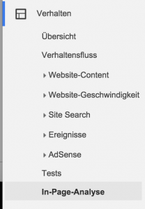 google-analytics-in-page-analyse