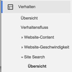 google-analytics-verhalten-site-search