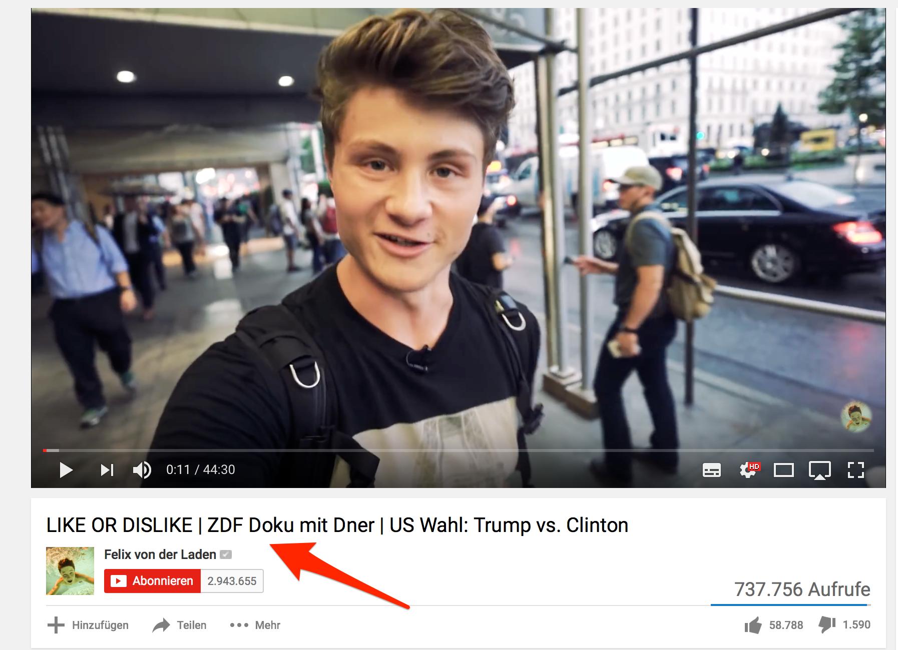 Felix von der laden dner  So viel Geld verdienen YouTuber wirklich - bonek