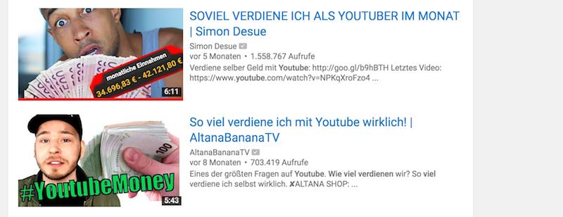 Wie viel Geld verdienen YouTuber