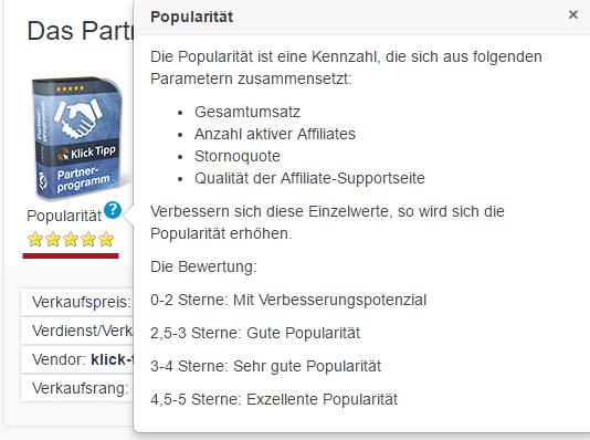 DigiStore24 Popularität