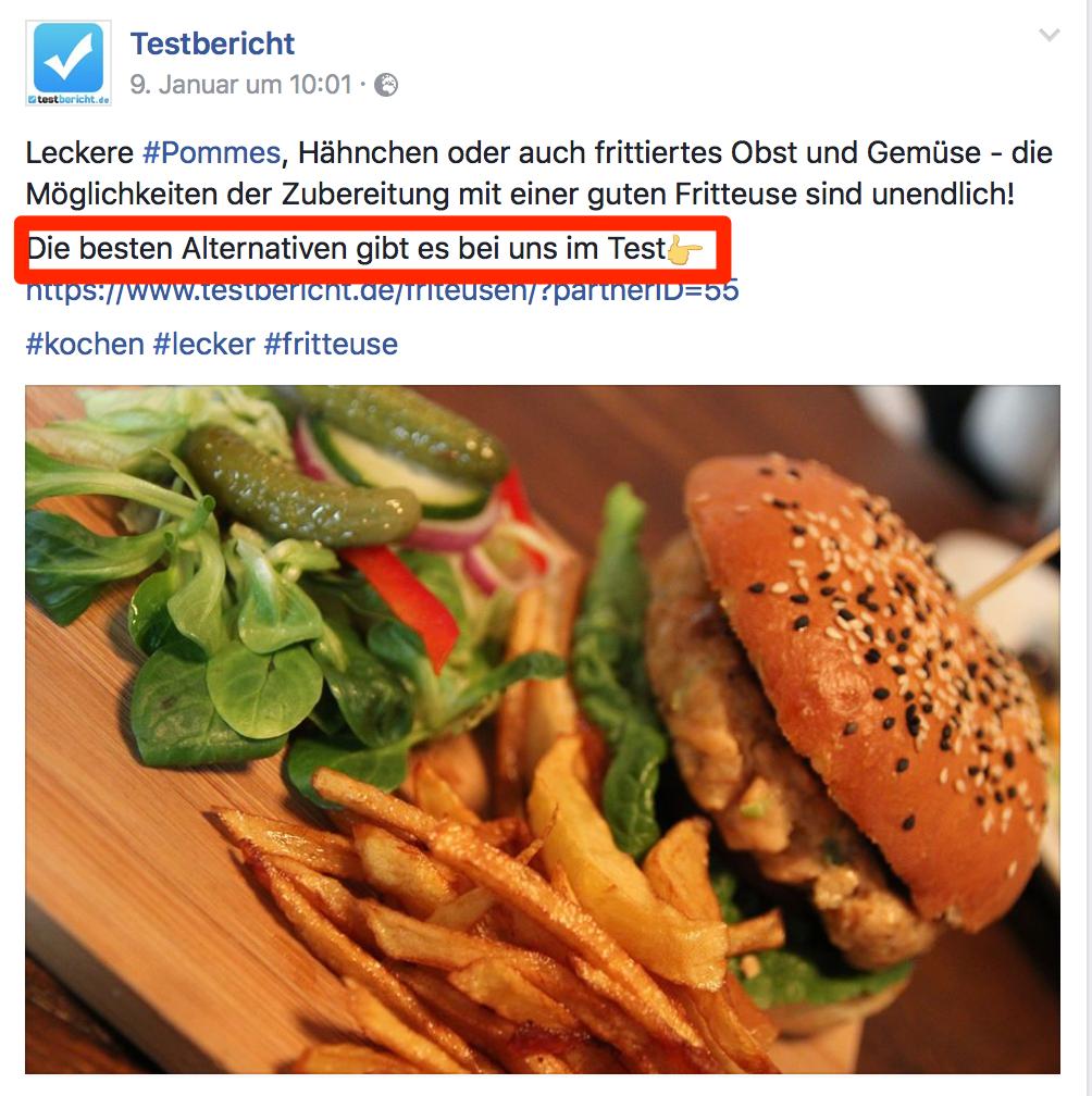 Testbericht.de Facebook