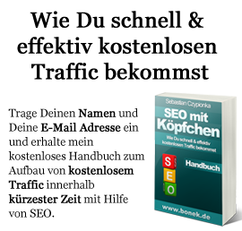 Internet Marketing Blog - SEO mit Köpfchen